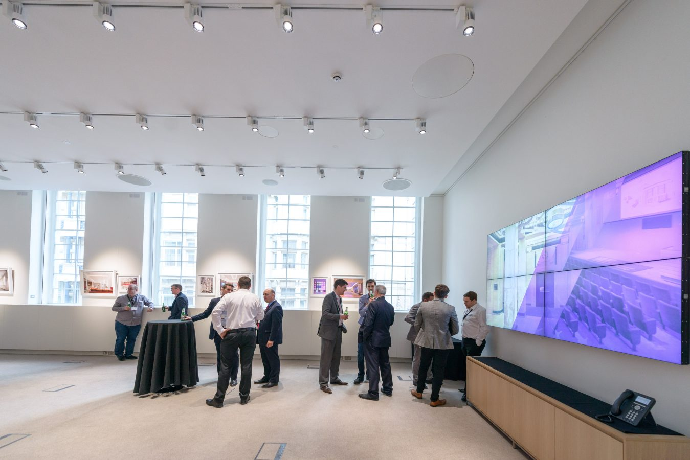 Mountbatten Exhibition Room | Video Wall