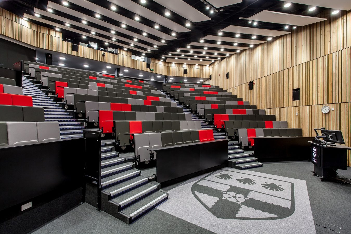 University of Reading | Audio Visual for Lecture Theatre| Snelling Business Systems