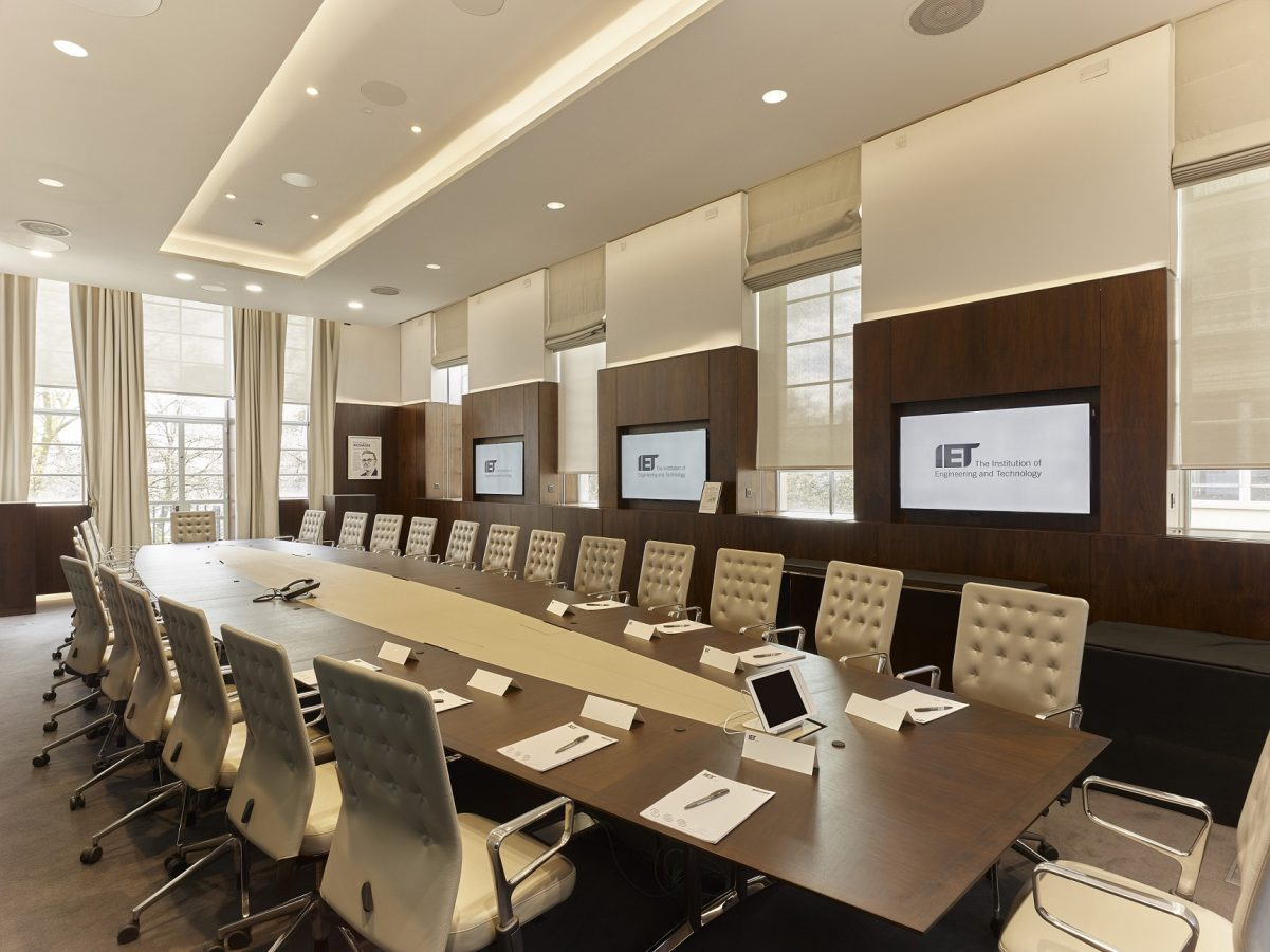 IET Savoy Place | Corporate AV | Snelling Business Systems
