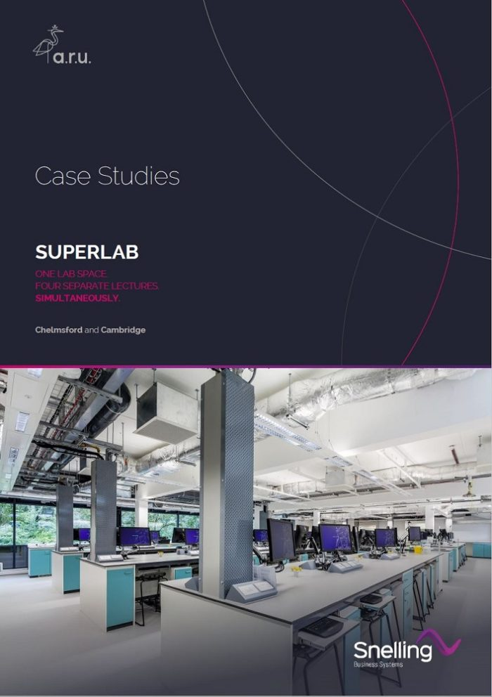 Superlab AV Case Study Cover Page_Snelling Business Systems