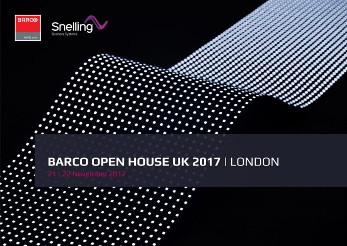 Barco Open House | Snelling Partner