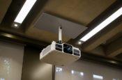 Lecture Theatre Projector   Judge Business School   Snelling AV Integration