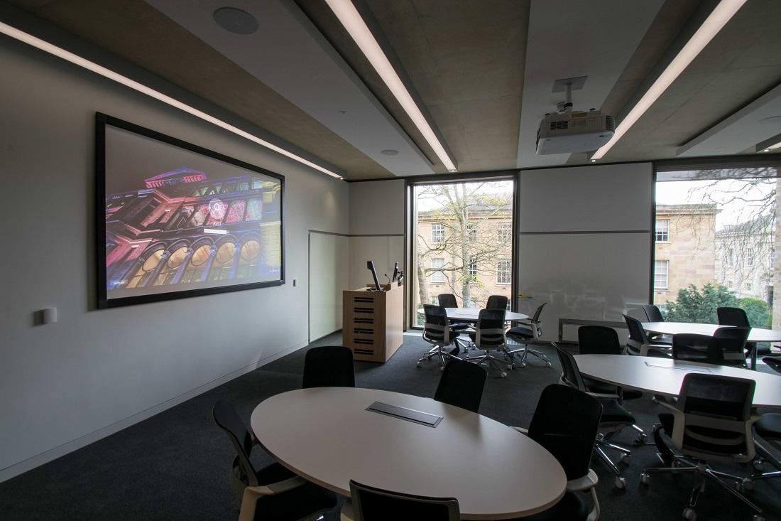 Executive Education Suite   Judge Business School   Snelling AV Integration