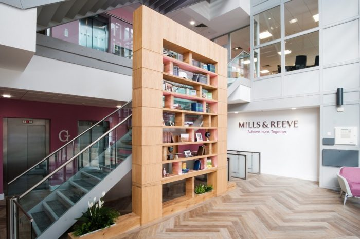 Mills and Reeve Corporate Office Fit Out | Snelling