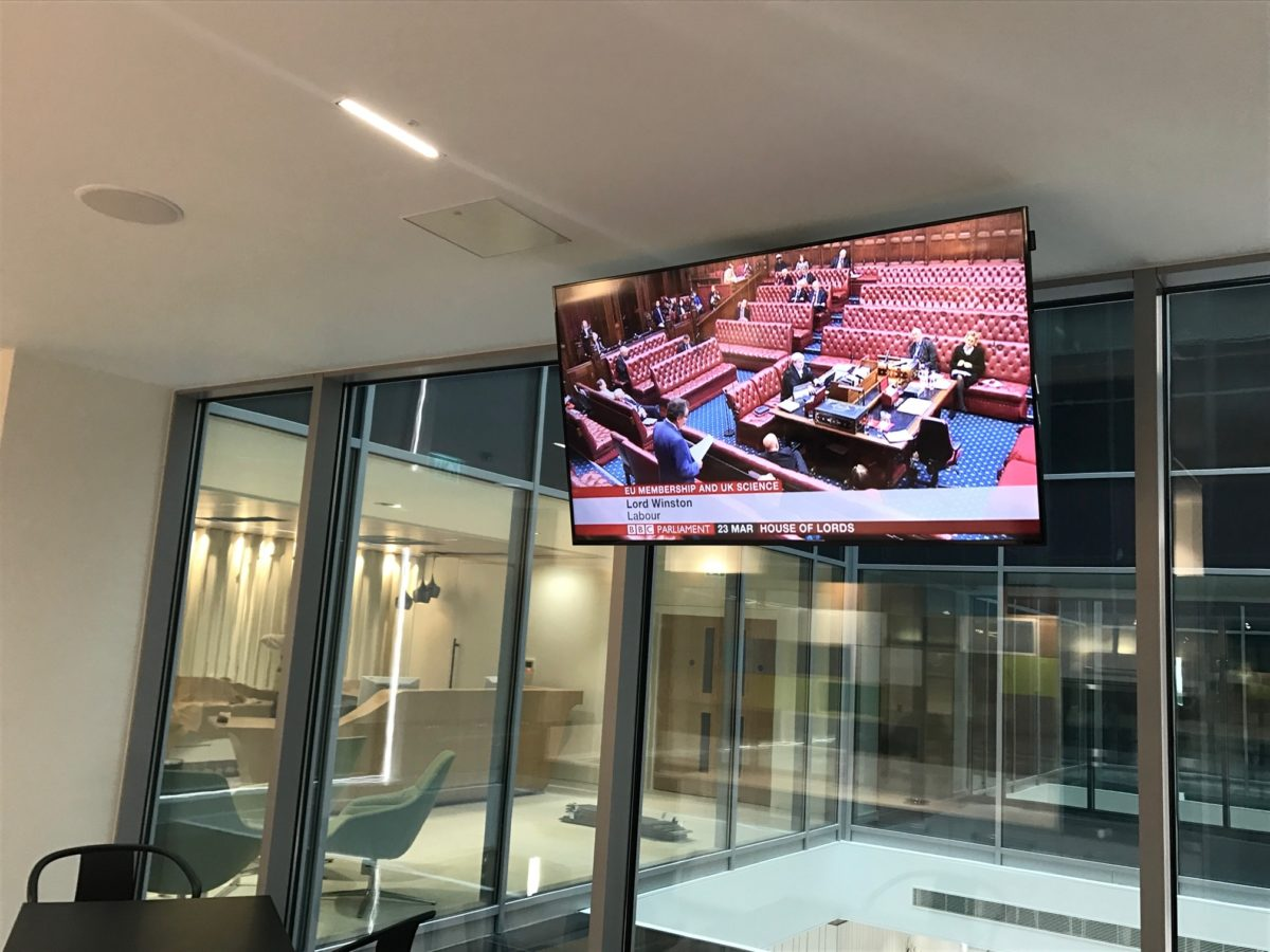 Corporate Audio Visual Fit Out Case Study Global