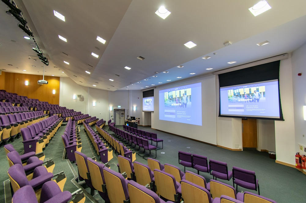 University of Surrey Lecture Theatre AV Refit Case Study