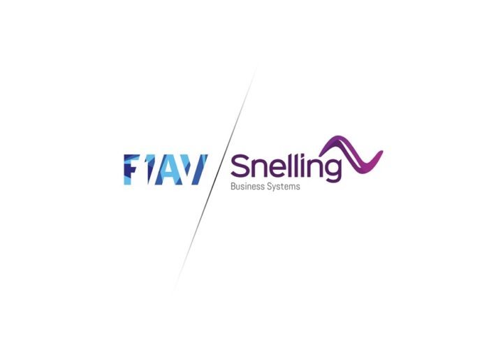 F1AV Chris Liebrand join Snelling Business Systems