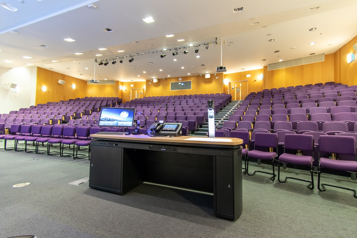 Surrey Business School Lecture Theatre Lectern