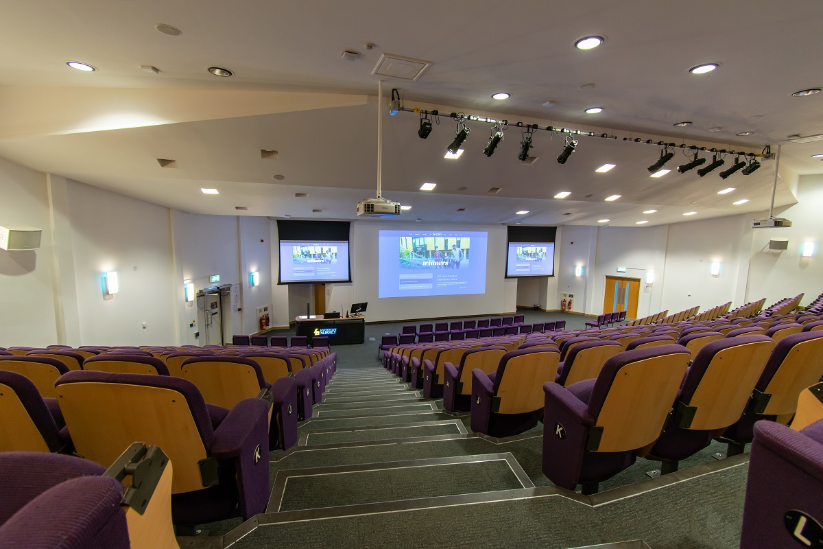 Surrey Business School Lecture Theatre Projection refit