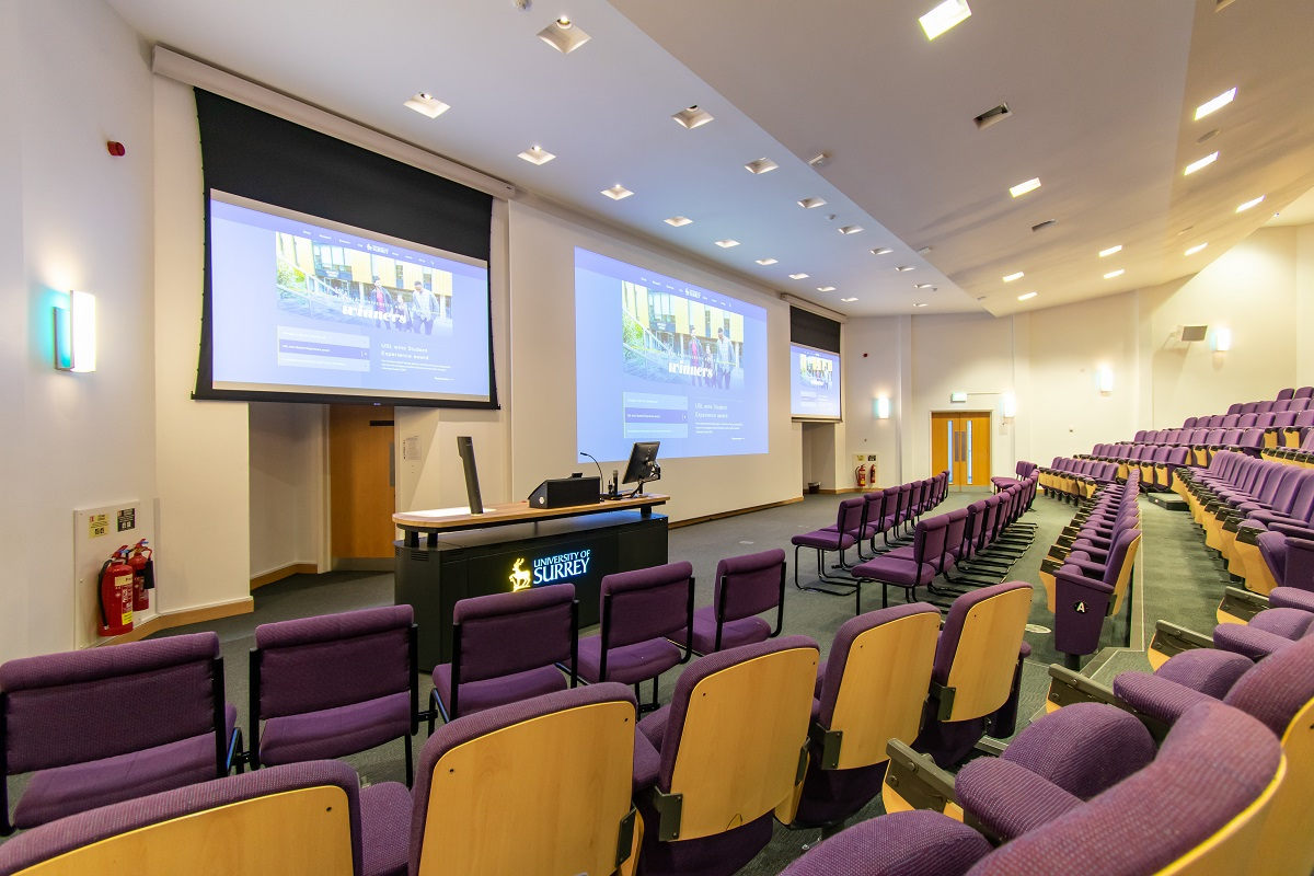 Surrey Business School Lecture Theatre
