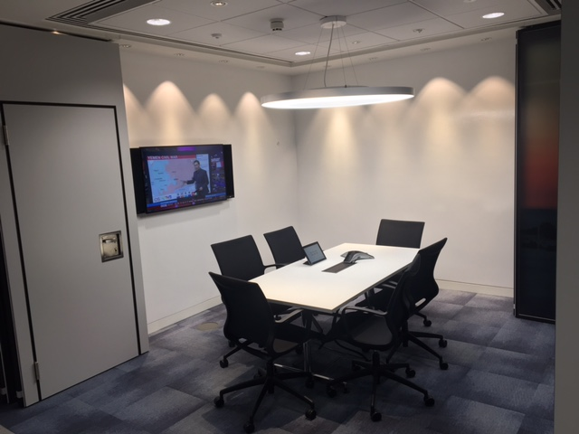 Deloitte internal meeting room AV systems