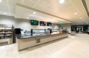 Cafeteria Digital Signage | Frontier Cambridge Office