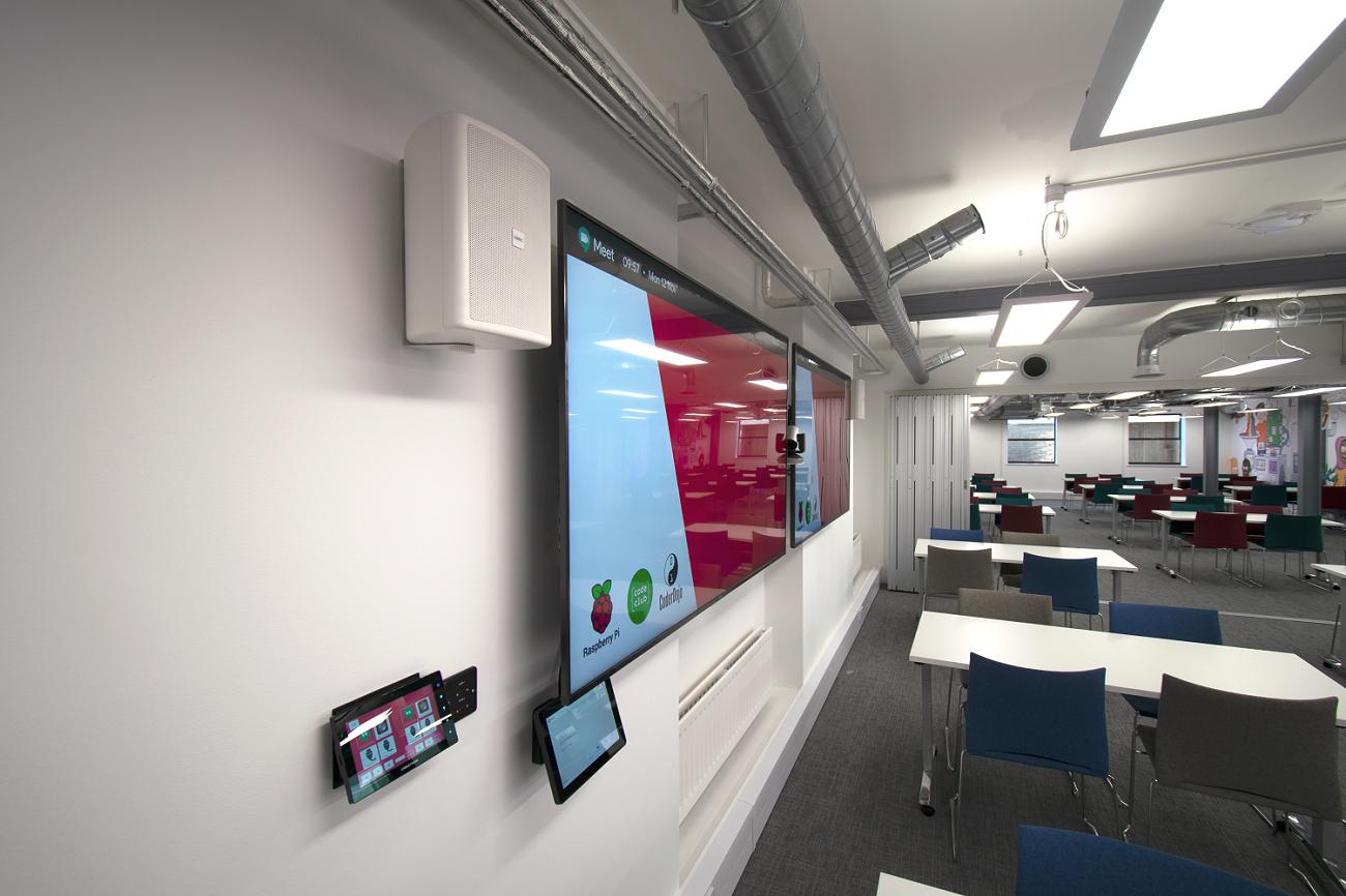 AV System touch control panel