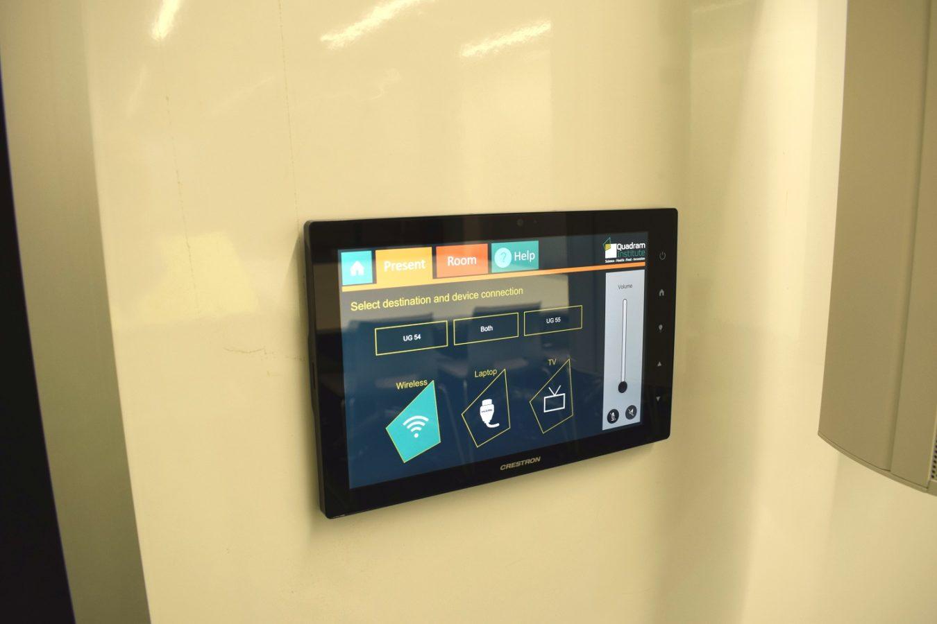 Crestron 10.1 Control Panel