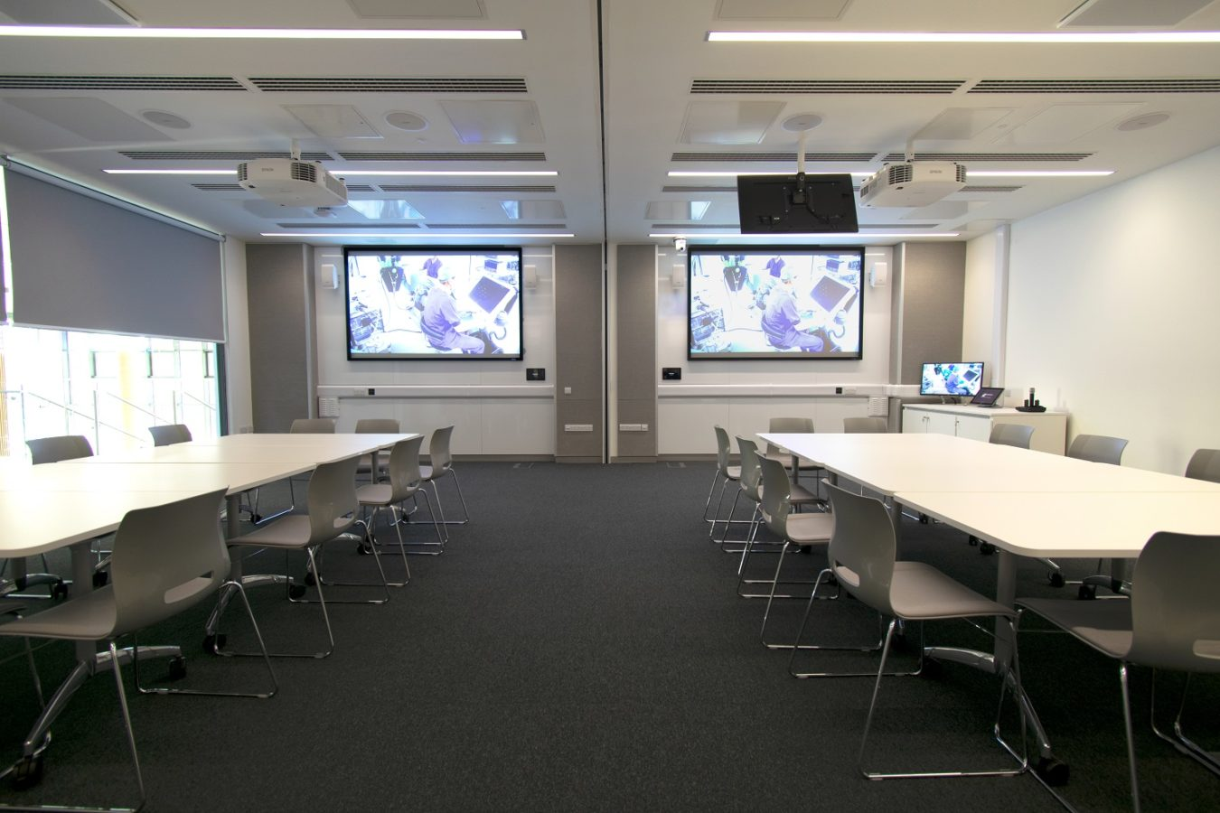 Quadram Institute Classroom AV installation