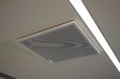 Quadram Institute Classroom Shure MXA Ceiling Microphone