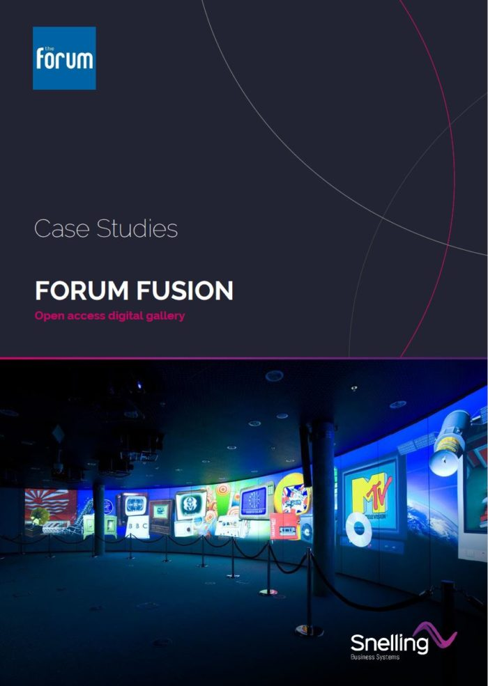 Museum AV installation_Forum Fusion_Case Study Cover Page