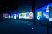 Museum Projection system installation Forum trust Snelling business systems cover photo