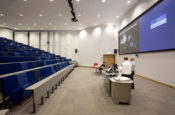 Medical university Lecture Theatre - AV installation - snelling business systems