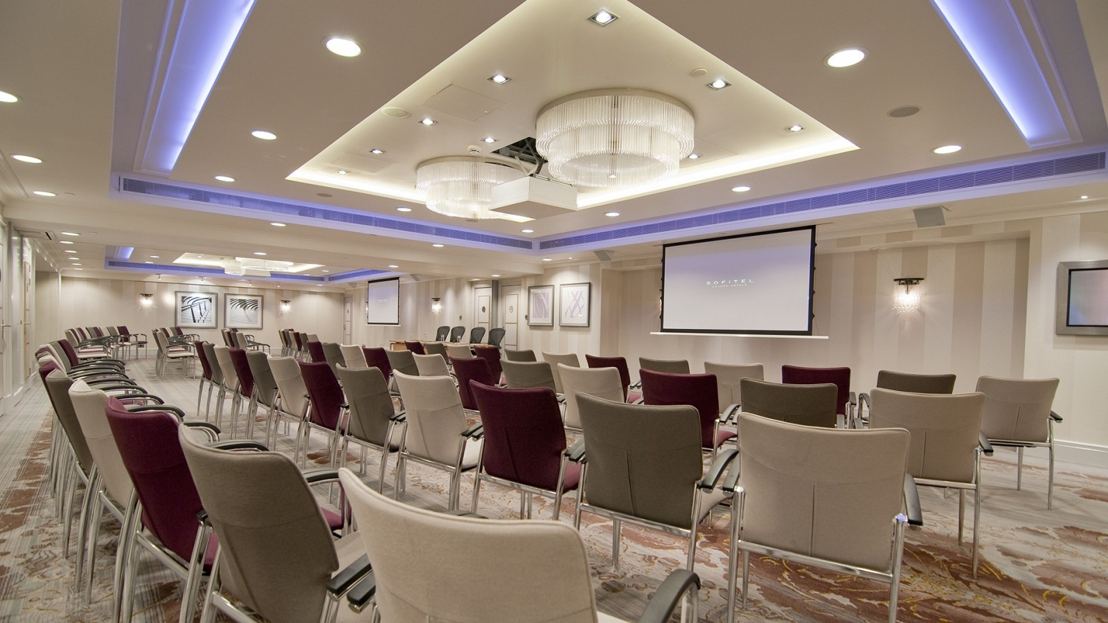 Sofitel London Hotel_Snelling Business_Audio VIsual Installation