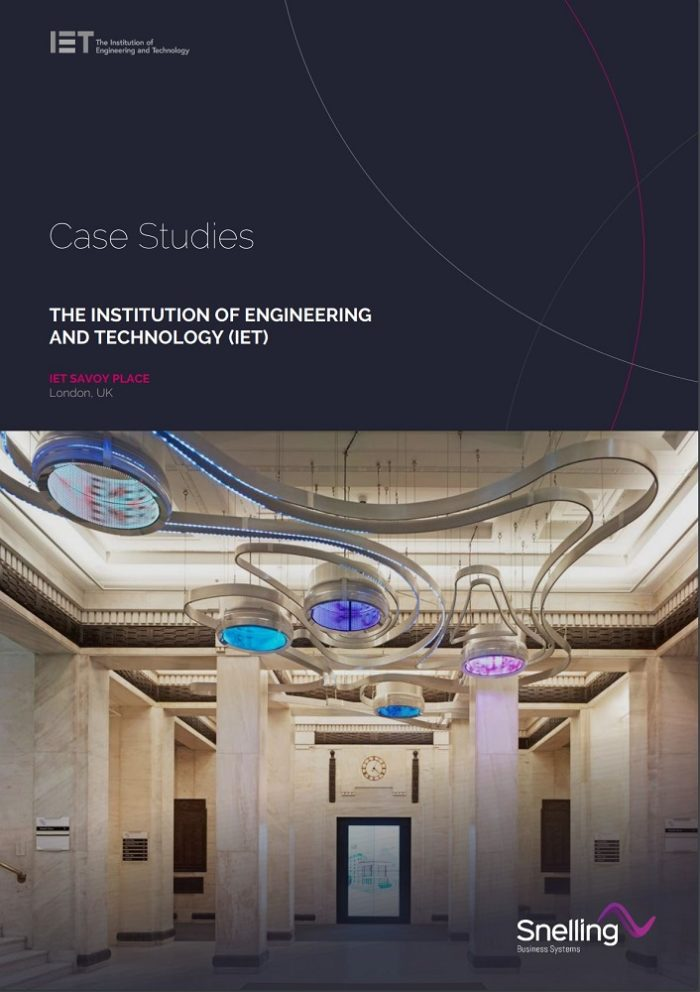 IET Savoy Place Audio Visual Case Study Download