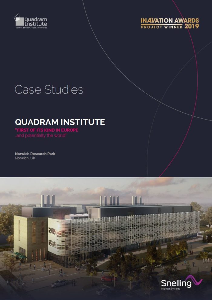 Quadram Institute AV Installation Case Study Cover