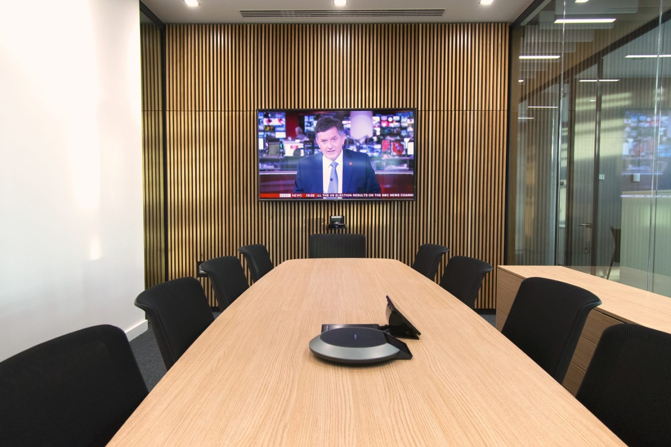 Corporate Meeting Room Audio Visual Systems