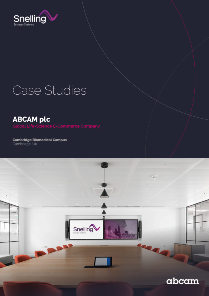 Abcam Audio Visual Integration Case Study Download Page