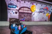 Samsung KX Graffitti Wall_Snelling Installation