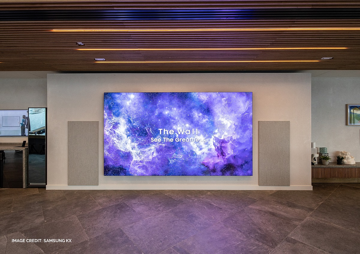 Samsung The Wall LED Installation