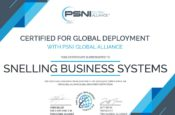PSNI Certificate for Global Audio Visual Deployment