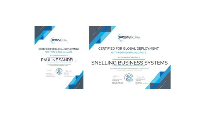 Pauline-Sandell-PSNI-Global-Deployment-Certificate