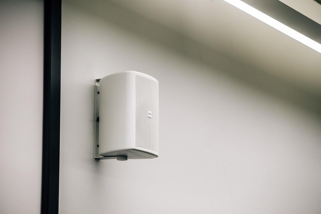 Audio Visual Classroom Case Study - QSC Wall Speaker