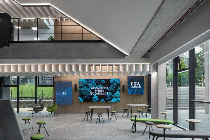 UEA Science Building AV Case Study Cover Photo