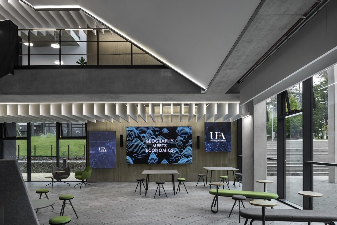 LED Wall - UEA Science Building Audio Visual Case Study