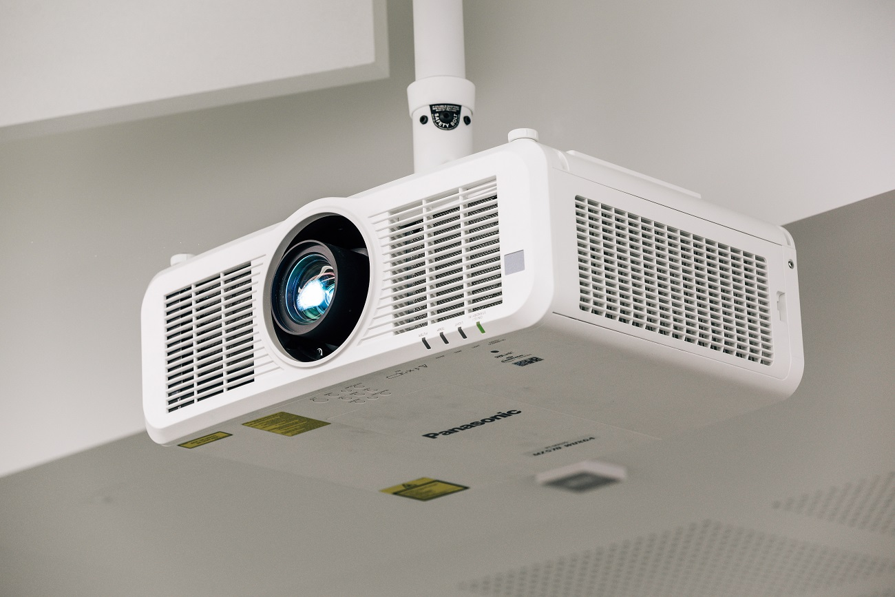 Panasonic Projector - UEA Science Building AV Case Study