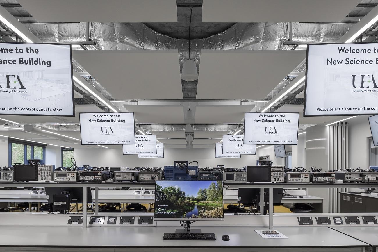 Electronics Lab Audio Visual Installation - Case Study