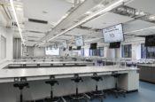 UEA Bio lab audio visual installation case Study