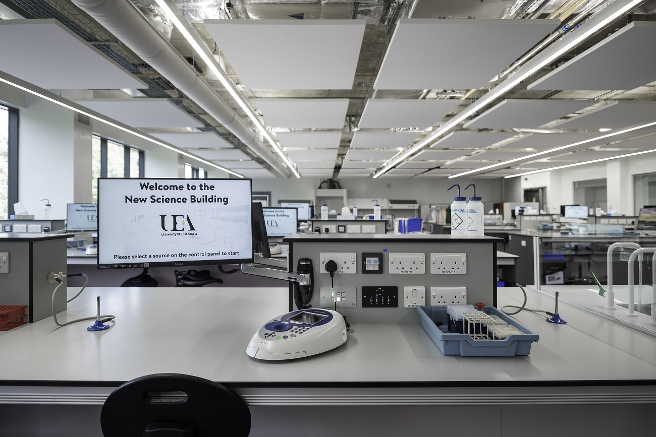 UEA Labs - Audio Visual Installation Case Study