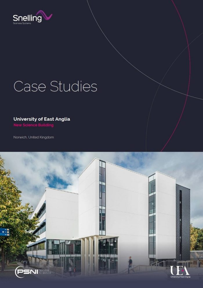 Cover Page Snelling Case Study Download - UEA New Science Building
