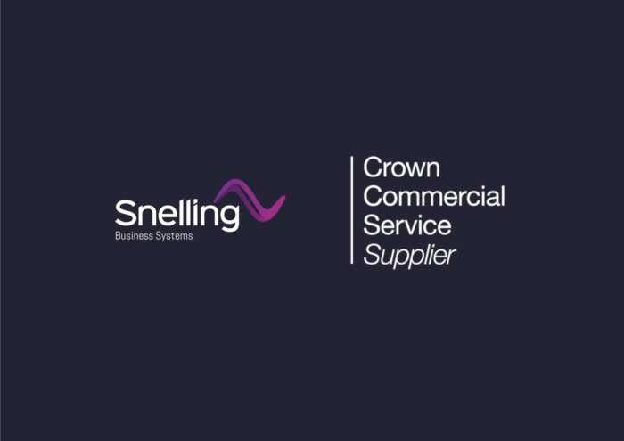 Crown Commercial Service Audio Visual Supplier Logo - Snelling Business Systems
